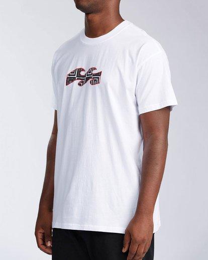 5 Air - T-Shirt for Men White X1SS16BIS1 Billabong