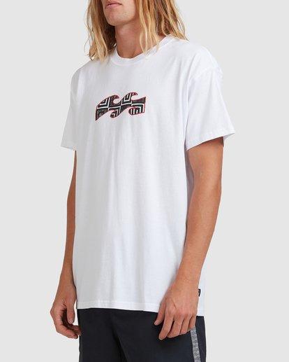 6 Air - T-Shirt for Men White X1SS16BIS1 Billabong