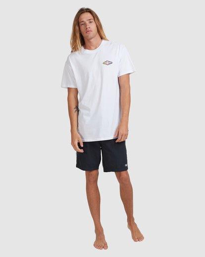 6 Diamond Skies - T-Shirt for Men White X1SS18BIS1 Billabong