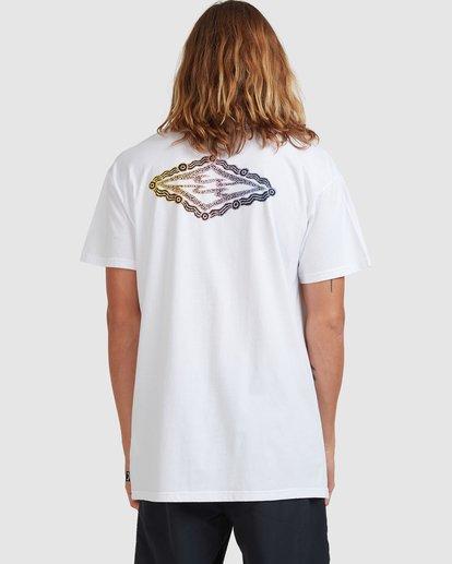 3 Diamond Skies - T-Shirt for Men White X1SS18BIS1 Billabong