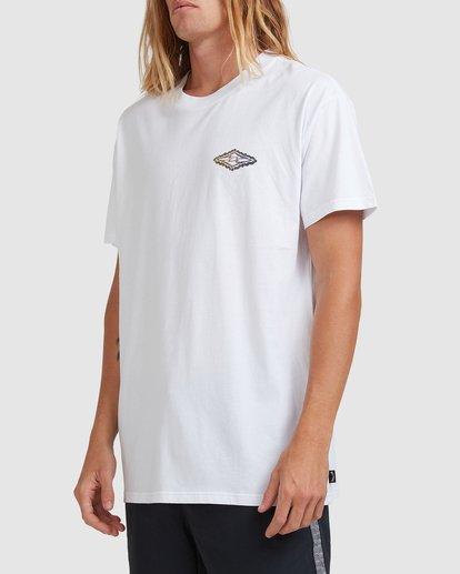 2 Diamond Skies - T-Shirt for Men White X1SS18BIS1 Billabong