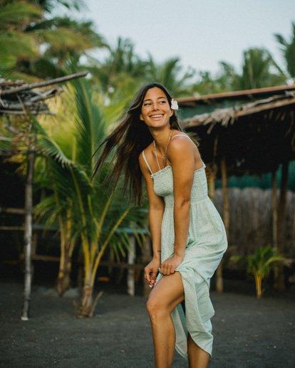 0 Baja Breeze - Midi Dress for Women White X3DR08BIS1 Billabong