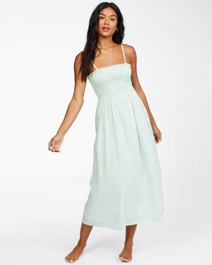 2 Baja Breeze - Midi Dress for Women White X3DR08BIS1 Billabong