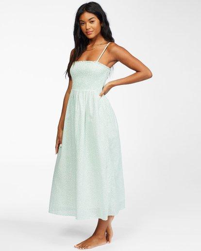 3 Baja Breeze - Midi Dress for Women White X3DR08BIS1 Billabong