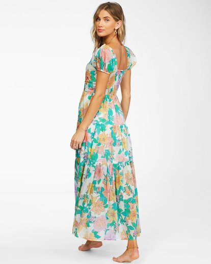 3 Sunrise - Vestido largo para Mujer Blanco X3DR09BIS1 Billabong