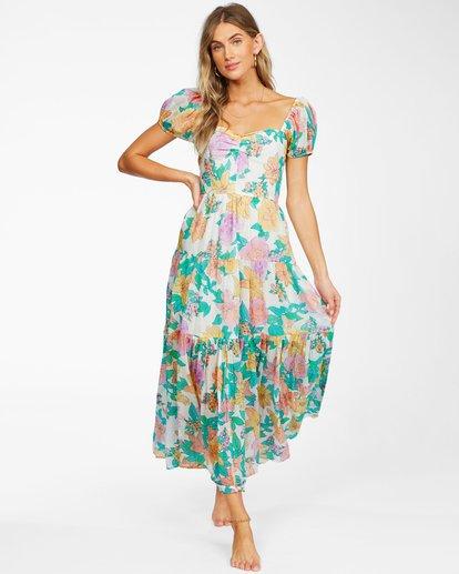 1 Sunrise - Vestido largo para Mujer Blanco X3DR09BIS1 Billabong