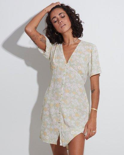 2 Melody - Mini Dress for Women Yellow X3DR11BIS1 Billabong