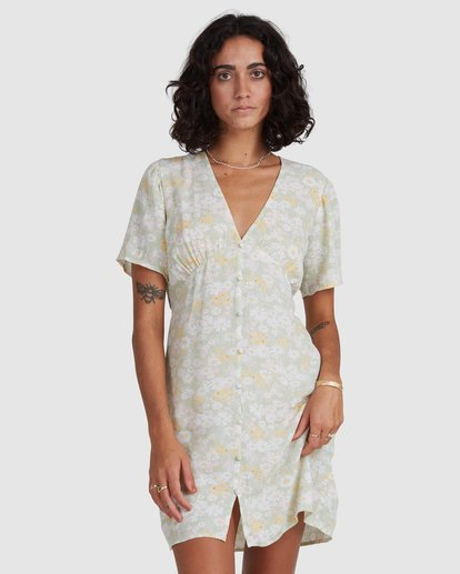 6 Melody - Mini Dress for Women Yellow X3DR11BIS1 Billabong