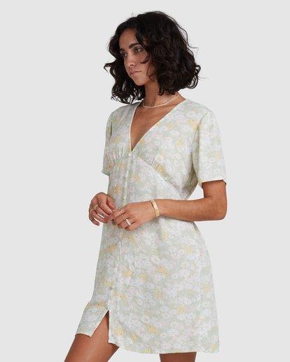 4 Melody - Mini Dress for Women Yellow X3DR11BIS1 Billabong