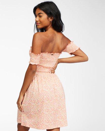 3 Keep It Sweet - Vestido para Mujer Rosa X3DR20BIS1 Billabong