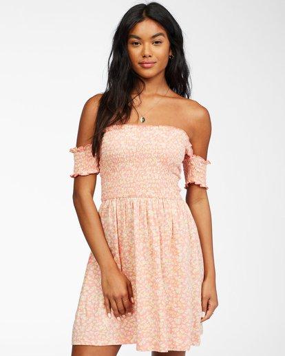 2 Keep It Sweet - Vestido para Mujer Rosa X3DR20BIS1 Billabong