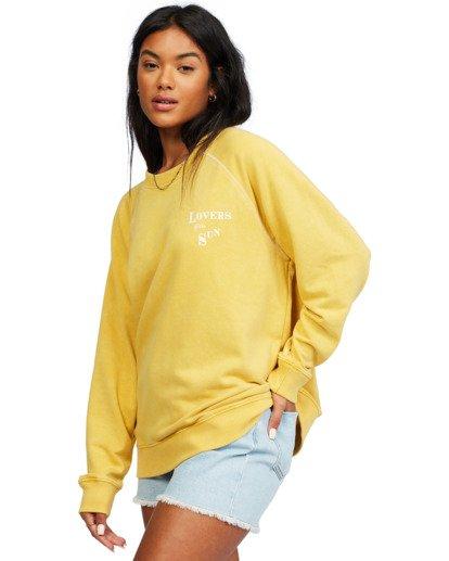 1 Salt And Sand - Sweatshirt for Women Yellow X3FL20BIS1 Billabong