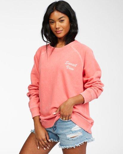 1 Salt And Sand - Sweatshirt for Women Pink X3FL20BIS1 Billabong