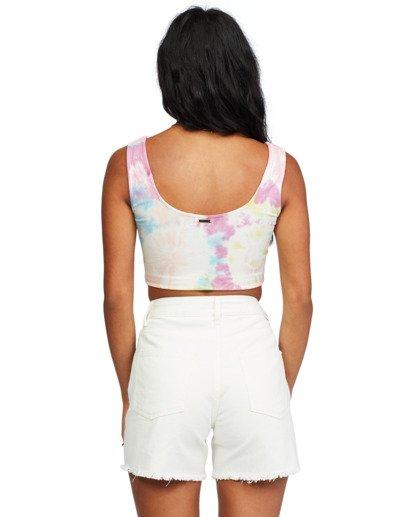 6 Stay Sunny - Scoop Neck Top for Women Multicolor X3KT27BIS1 Billabong