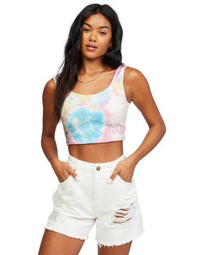 5 Stay Sunny - Scoop Neck Top for Women Multicolor X3KT27BIS1 Billabong