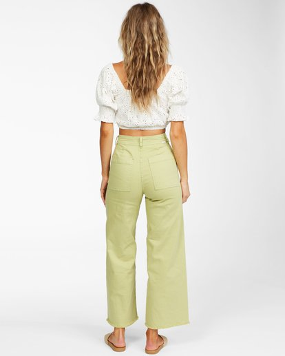 3 Free Fall - Wide Leg Trousers for Women Multicolor X3PT01BIS1 Billabong