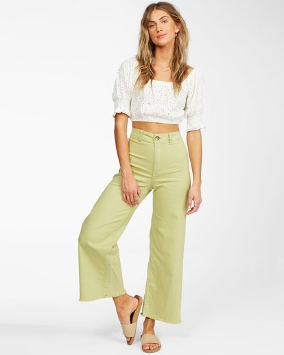 1 Free Fall - Wide Leg Trousers for Women Multicolor X3PT01BIS1 Billabong