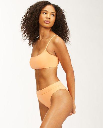 2 Sol Searcher Maui Rider - Bikini Bottoms for Women Orange X3SB24BIMU Billabong