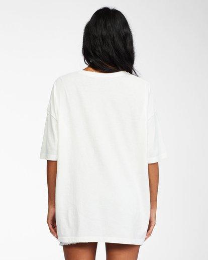 2 Heritage Palms - T-Shirt for Women White X3SS21BIS1 Billabong