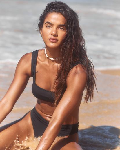 0 Sol Searcher Tank - Bikini Top for Women Black X3ST13BIS1 Billabong