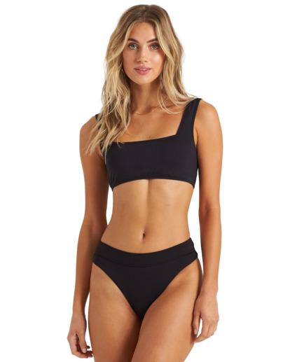 1 Sol Searcher Tank - Bikini Top for Women Black X3ST13BIS1 Billabong