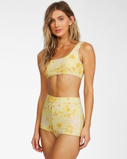 2 Make You Mine Tank - Recycled Bikini Top for Women Yellow X3ST15BIS1 Billabong