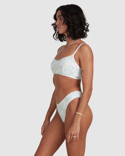 1 Melody Vintage - Bralette Bikini Top for Women Yellow X3ST21BIS1 Billabong