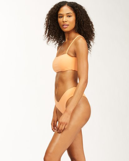 2 Sol Searcher - Bandeau Bikini Top for Women Orange X3ST23BIMU Billabong