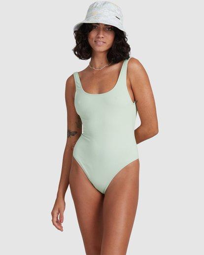 2 Ripple - One-Piece Swimsuit for Women Yellow X3SW05BIS1 Billabong