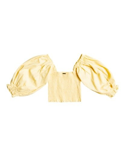 1 Feeling Groovy - Cropped Top for Women Yellow X3TP08BIS1 Billabong