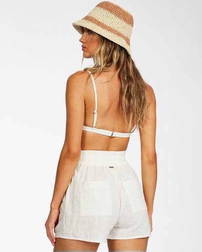 2 Love To Lounge - Elasticated Shorts for Women White X3WK01BIS1 Billabong