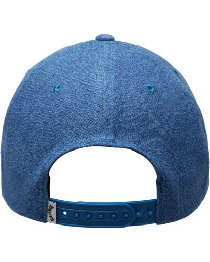 3 Wallie - Snapback Cap for Men Blue X5CM03BIS1 Billabong