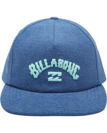 1 Wallie - Snapback Cap for Men Blue X5CM03BIS1 Billabong