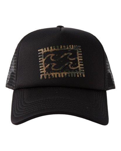 0 Crayon Wave - Trucker Cap for Men Black X5CT01BIS1 Billabong