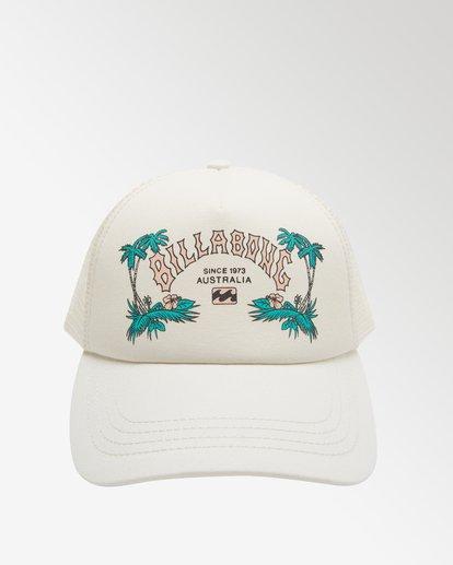 2 Aloha Forever - Casquette trucker pour Femme Blanc X9CT20BIS1 Billabong