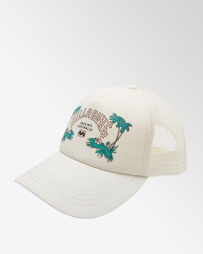 1 Aloha Forever - Casquette trucker pour Femme Blanc X9CT20BIS1 Billabong