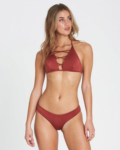 2 Sol Searcher Hawaii Lo Bikini Bottom Red XB01JSOL Billabong