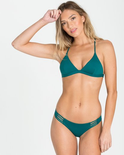 2 Sol Searcher Tropic Bikini Bottom Blue XB01NBSO Billabong