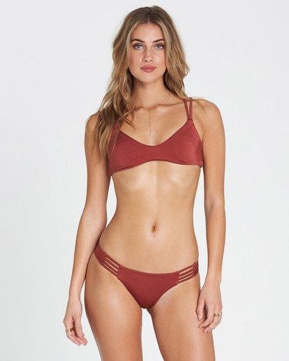 2 Sol Searcher Tropic Bikini Bottom Red XB01NBSO Billabong