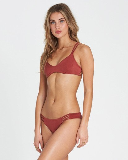 1 Sol Searcher Tropic Bikini Bottom Red XB01NBSO Billabong