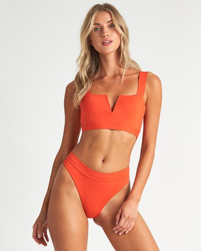 3 Sol Searcher Maui Rider Bikini Bottom Orange XB01UBSO Billabong