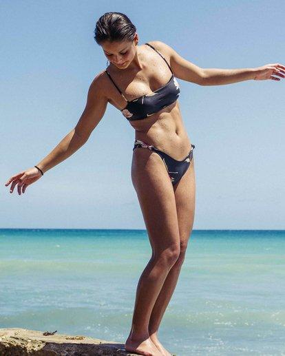 3 Floral Dawn Isla Bikini Bottom Black XB02PBFL Billabong