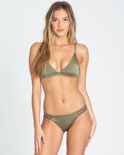 2 Sol Searcher Tropic Bikini Bottom Green XB02TBSO Billabong