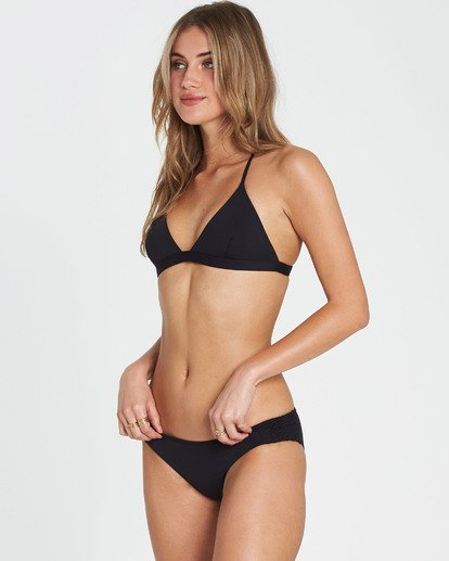 1 Sol Searcher Lowrider Bikini Bottom Black XB03JSOL Billabong