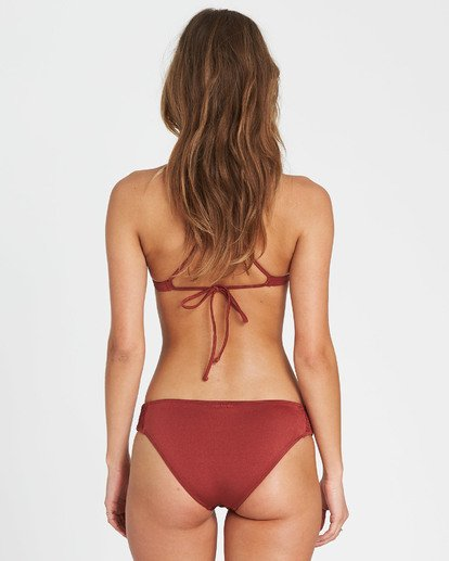 0 Sol Searcher Lowrider Bikini Bottom Red XB03JSOL Billabong