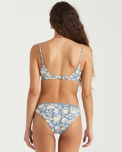 2 Wave Gypsy Lowrider Bikini Bottom Blue XB043BWA Billabong