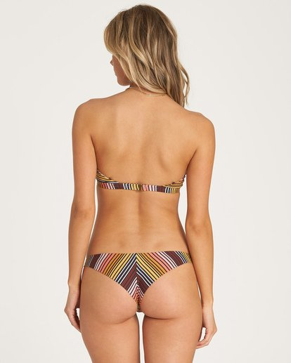 1 Sun Fall Tanga Bikini Bottom Grey XB04WBSU Billabong