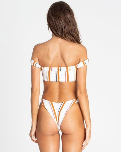 0 Sunstruck Hike Bikini Bottom White XB07TBSU Billabong