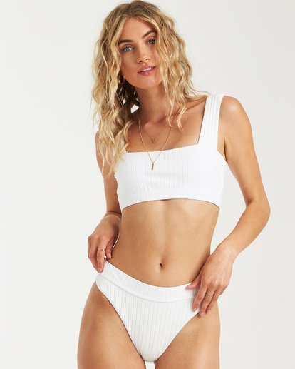 1 Sunny Rib Maui Rider Bikini Bottom White XB09UBSU Billabong