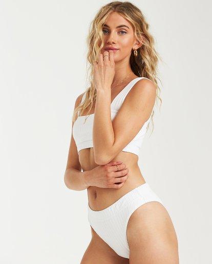 3 Sunny Rib Maui Rider Bikini Bottom White XB09UBSU Billabong